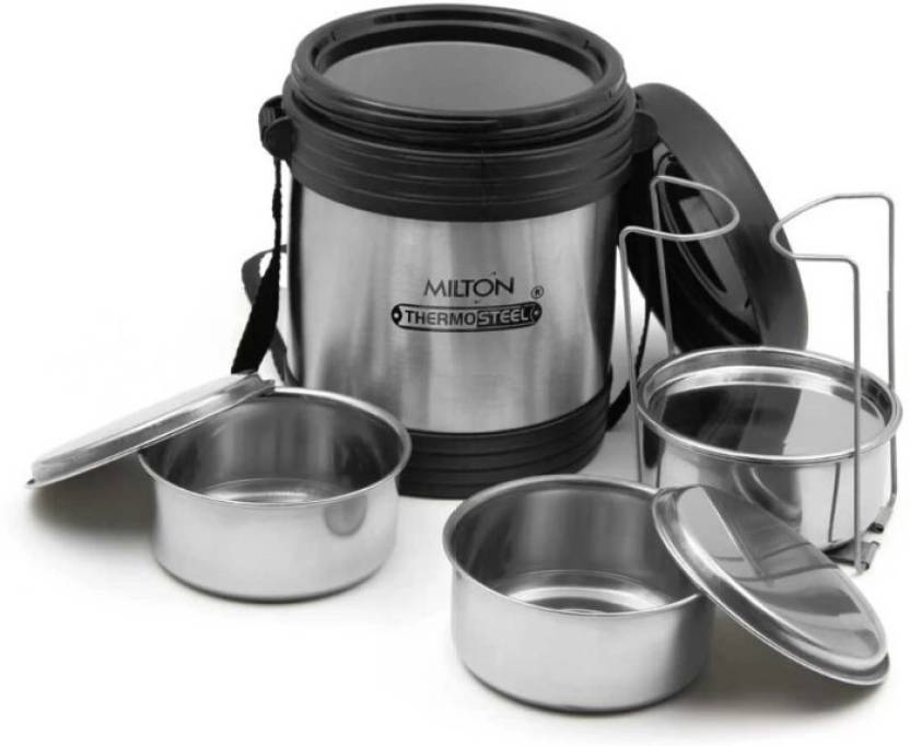 Milton legend 3 containers thermosteel lunch box 750ml 3 Containers Lunch Box 750 ml