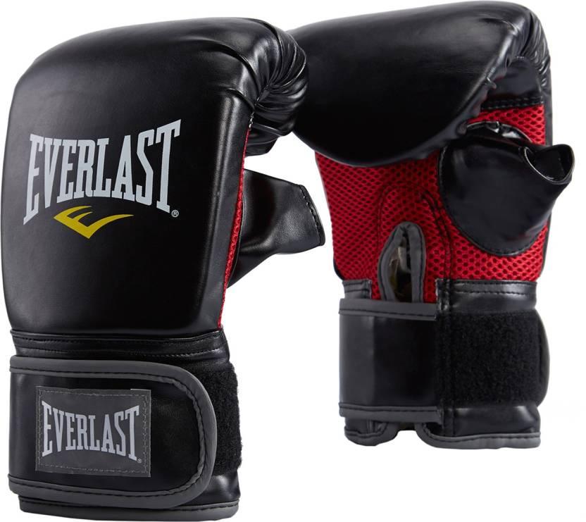 Everlast Mma Heavy Bag Boxing Gloves Black