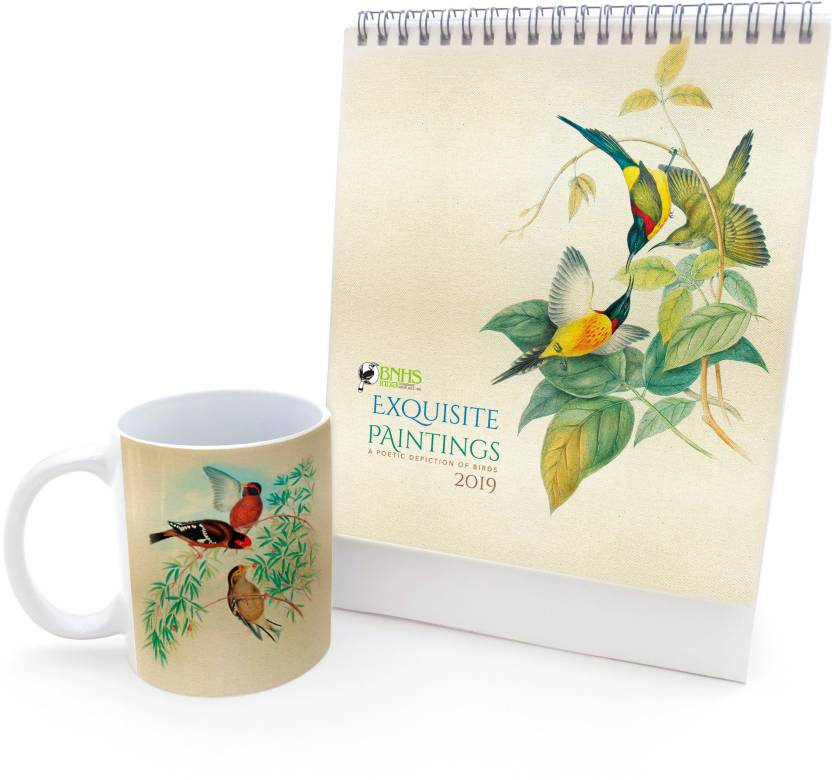 Pack of 2 Coffee Mug + Calendar at Rs. 129 only