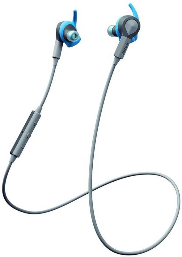 Jabra Sport Coach Special Edition Bluetooth Headset Blue, In the Ear