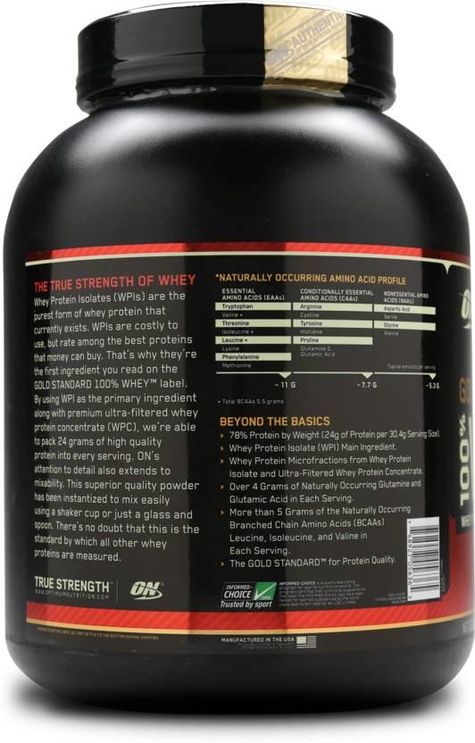 Optimum Nutrition Gold Standard 100% Whey Protein 2.27 kg, Double Rich Chocolate  Optimum Nutrition Protein Supplements