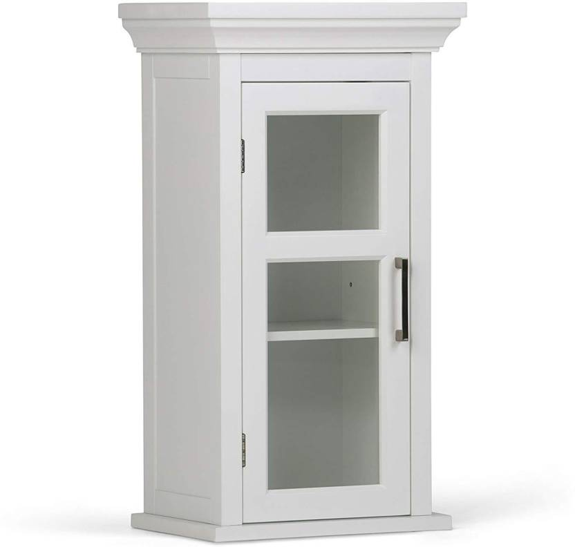 URGE Engineered Wood Wall Mount Cabinet Finish Color   WHITE