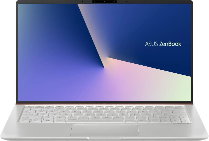 Asus ZenBook 14 Core i5 8th Gen - (8 GB/256 GB SSD/Windows 10 Home) UX433FA-A6113T Thin and Light Laptop(14 inch, Icicle Silver, 1.19 kg)