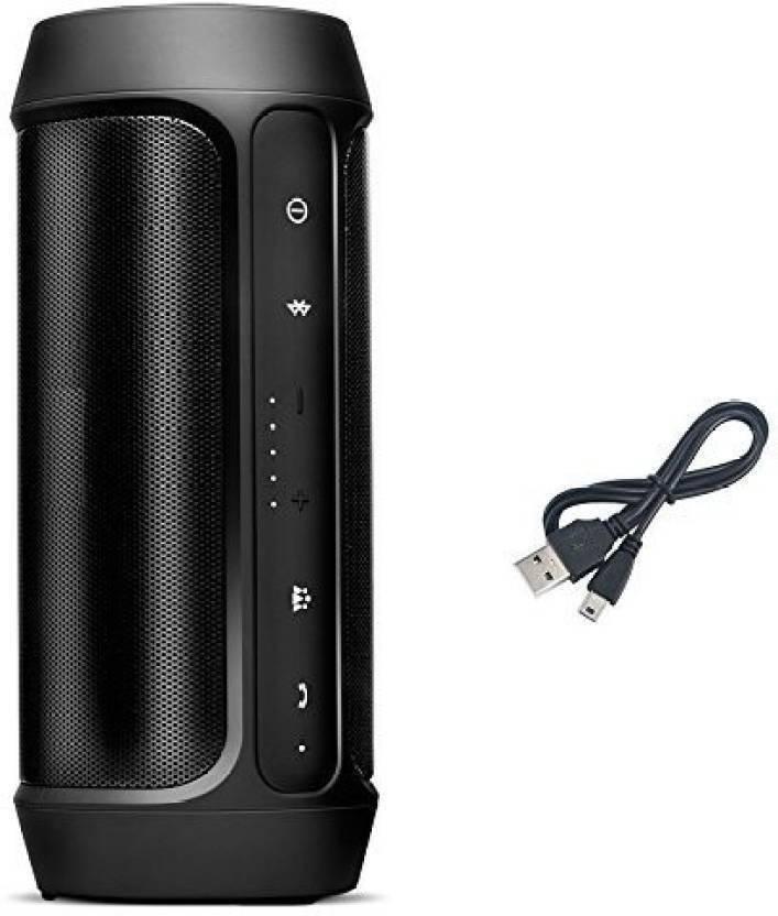 BRINGWORLD charge2+ portable 20 W Bluetooth Speaker Black, 2.1 Channel