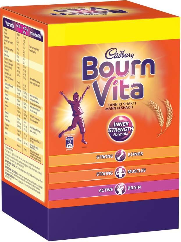 Cadbury Bournvita Inner Strength Formula Nutrition Drink (2 kg, Chocolate Flavored)