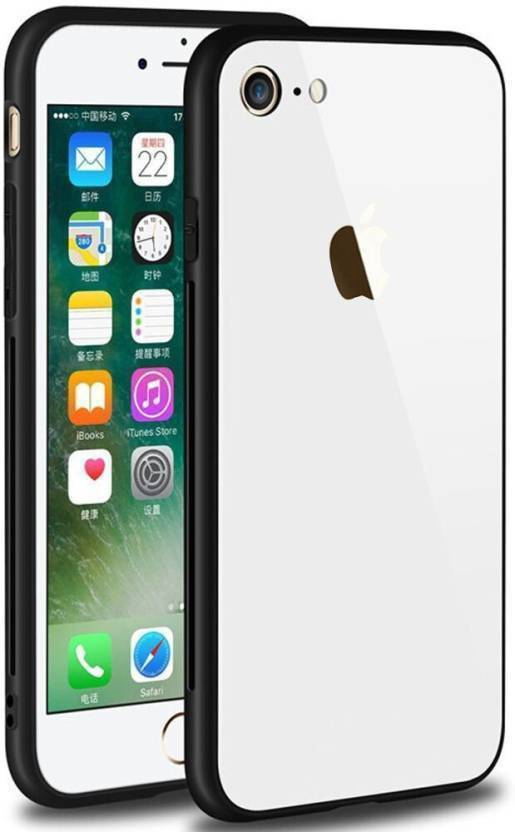 Chevron Back Cover for Apple iPhone 7 White, Shock Proof
