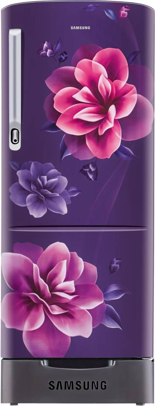 Samsung 192 L Direct Cool Single Door 4 Star Refrigerator  (Camellia Purple, RR20R182YCR/HL) at Flipkart ₹15,290