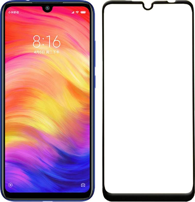 Flipkart SmartBuy Edge To Edge Tempered Glass for Mi Redmi Note 7 Pack of 1