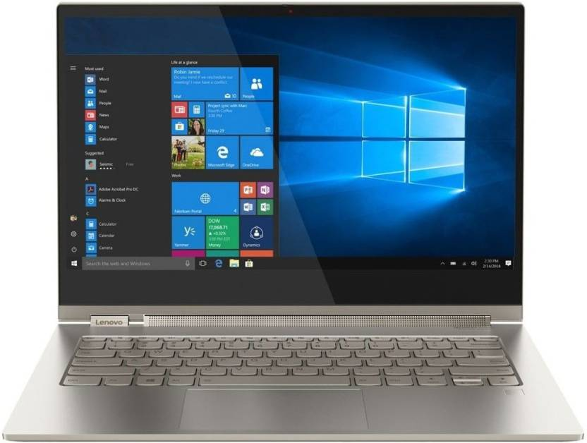 Lenovo Yoga C930 Core i7 8th Gen - (16 GB/512 GB SSD/Windows 10 Home) 81C4000EUS 2 in 1 Laptop(13.9 inch, Mica)