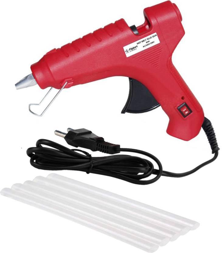 Flipkart SmartBuy Electric 40W Red Hot Melt Glue Gun With 5