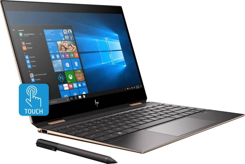 HP Spectre x360 Core i7 8th Gen - (16 GB/1 TB SSD/Windows 10 Home) 13-ap0102TU 2 in 1 Laptop(13.3 inch, Dark Ash Silver, 1.32 kg, With MS Office)