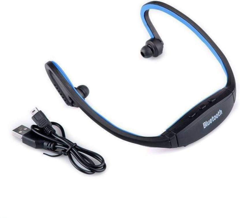 Buy Genuine BS19C Headphones with TF Card, FM Radio Bluetooth Headset Multicolor, In the Ear