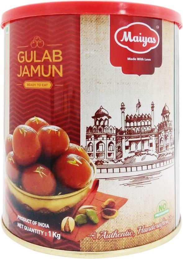 Maiyas Gulab Jamun  (1 kg, Tin)