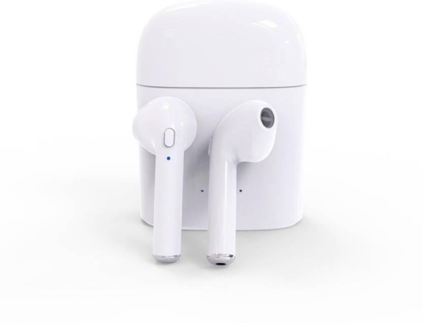 DILURBAN Portable Bluetooth Mic TW04 Bluetooth Headset White, True Wireless