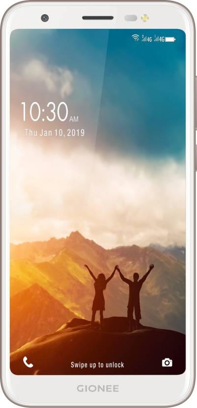 Gionee F205 Pro (Champagne, 16 GB)  (2 GB RAM)#JustHere at Flipkart ₹5,890