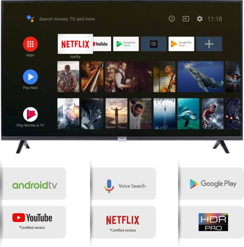 iFFALCON by TCL 79 97cm (32 inch) LED Smart Android TV - 11999 Only