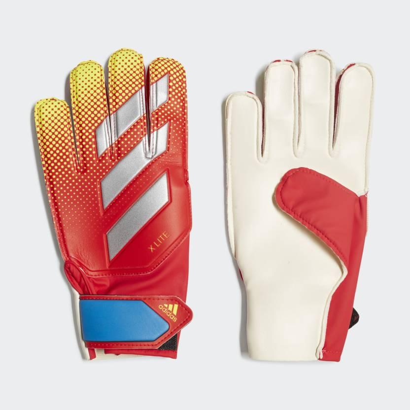 ADIDAS X Lite Football Goalkeeping Gloves Red