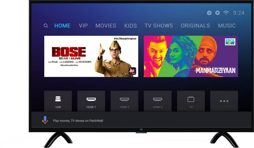 Mi LED Smart TV 4A PRO 80 cm (32) with Android#JustHere at Flipkart ₹12,999
