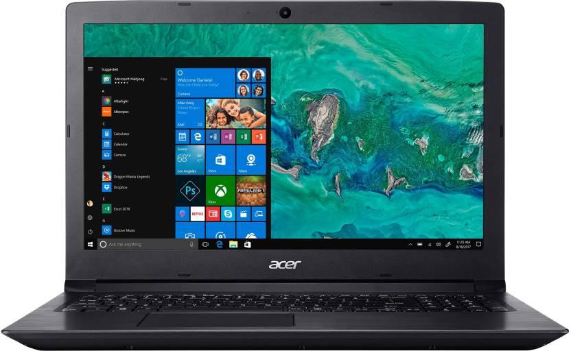 Acer Aspire 3 Ryzen 5 Quad Core    4  GB/1 TB HDD/Windows 10 Home  A315 41 / A315 41G Laptop 15.6 inch, Black, 2.2 kg  Acer Laptops
