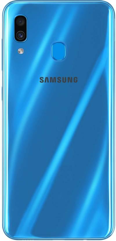 Samsung Galaxy A30  Blue, 64  GB  4  GB RAM  Samsung Mobiles
