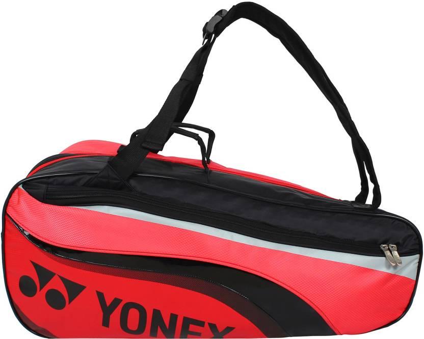 Yonex BAG SUNR 8826TH BT6 SR Kitbag Red, Kit Bag