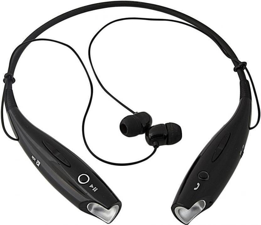 Shopping Mart HBS730 Bluetooth Headset Black, Wireless over the head