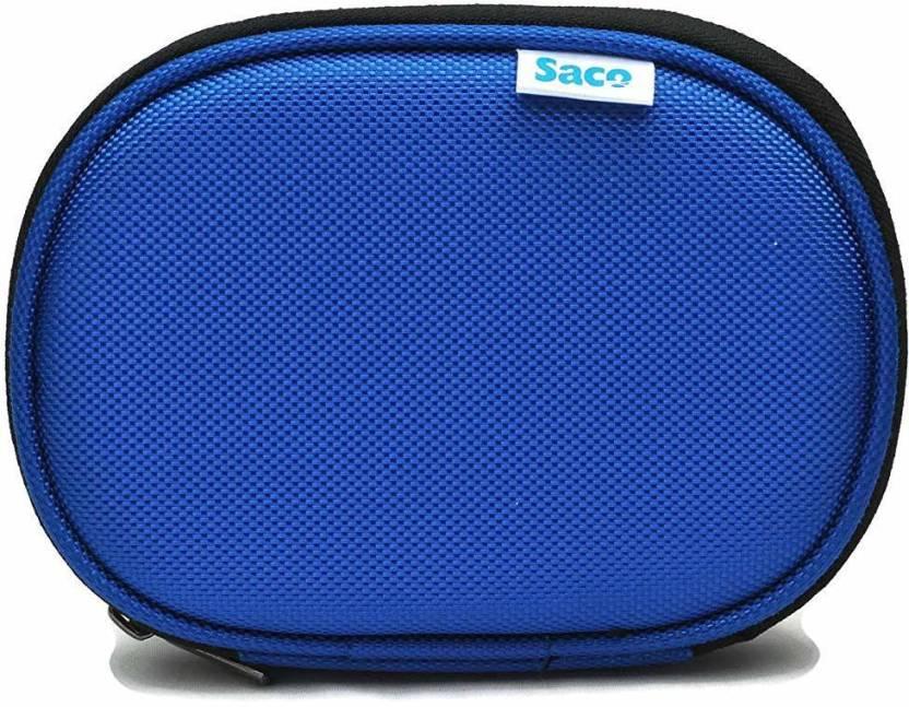 Saco Flip Cover for Sony HDSL2 2TB External Slim Hard Disk Blue, Hard Case