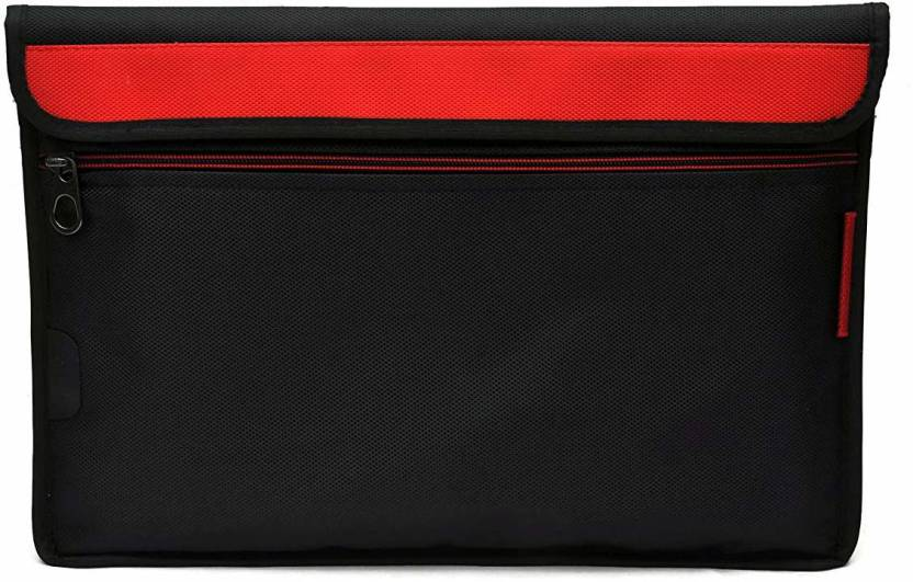 Saco Sleeve for HP E5H31PA 430 13.3 inch Laptop Red, Shock Proof