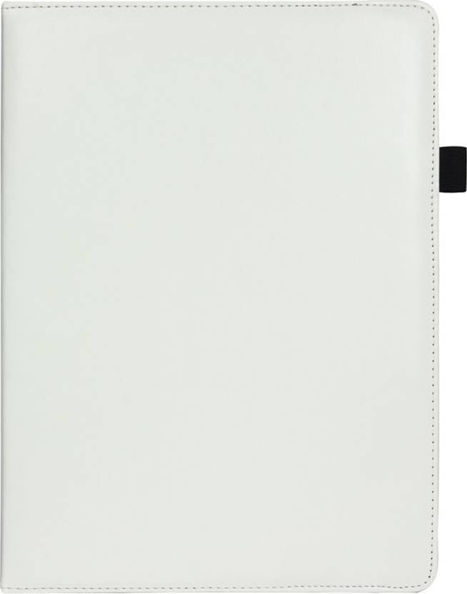 Emartbuy Wallet Case Cover for Lenovo Ideatab MIIX 3 1030 Tablet PC 10.1 Inch White