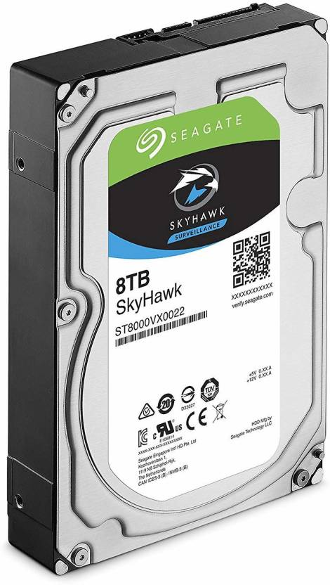 Seagate Skyhawk Surveillance 8 TB Surveillance Systems Internal Hard Disk Drive (Skyhawk Surveillance 8 TB Desktop Internal Hard Disk Drive)