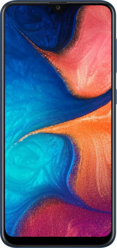 Samsung Galaxy A20 (Deep Blue, 32 GB)(3 GB RAM)