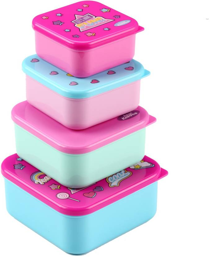 Smily Kiddos Multipurpose 4 Containers Lunch Box 750 ml