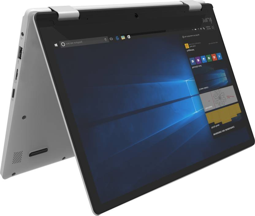 iLife Zed Series Celeron Dual Core - (2 GB/32 GB EMMC Storage/Windows 10 Home) Zed Note Prime 2 in 1 Laptop(11.6 inch, Silver, 1.95 kg)