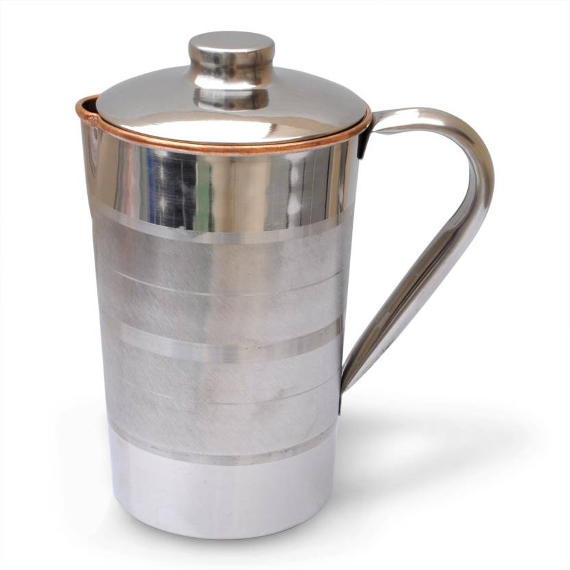 Dakshcraft Copper With Lid Outside Stainless Steel Improve Health