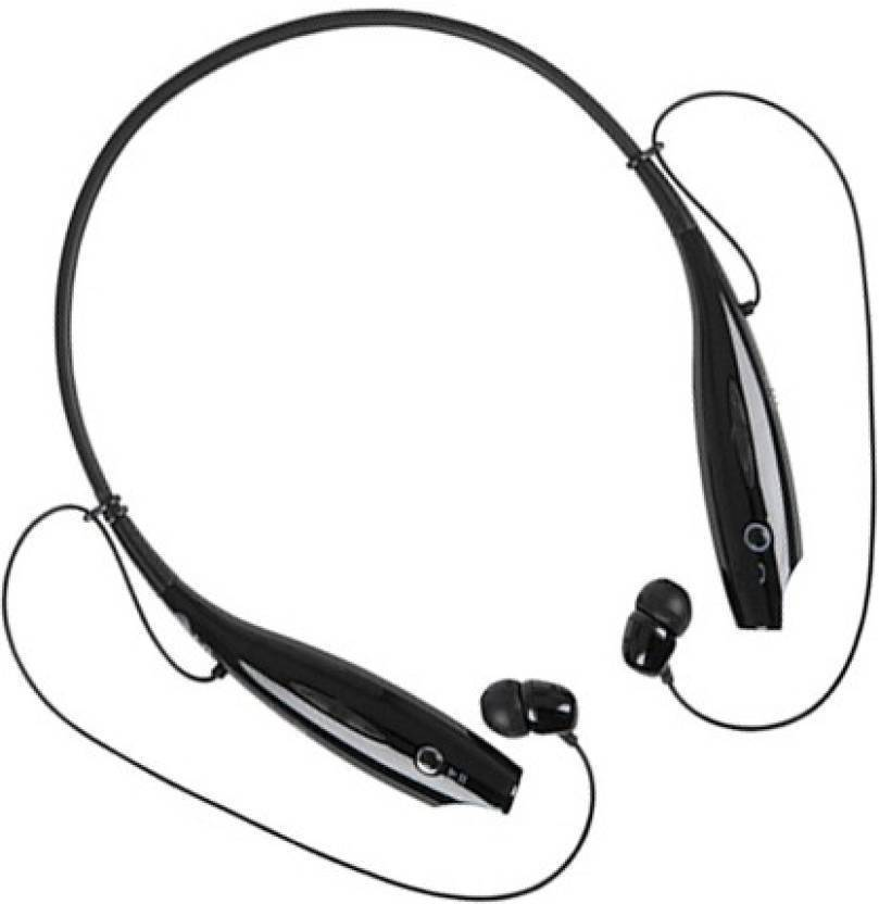 footloose Wireless HBS730 Bluetooth Bluetooth Headset Black, In the Ear