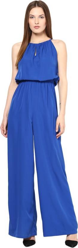 5c34c95d768c Harpa Solid Women s Jumpsuit - Buy Royal Blue Harpa Solid Women s ...