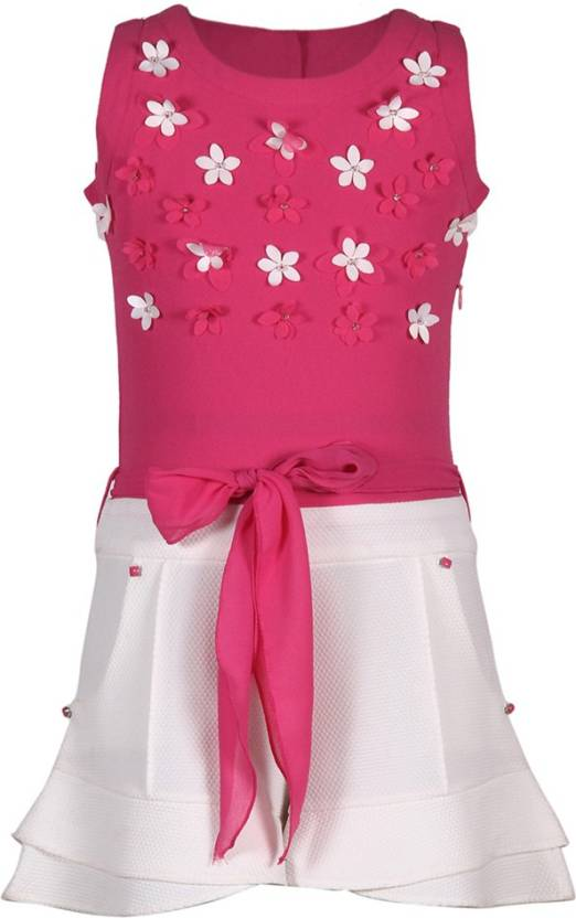 271ce2e805 Cutecumber Solid Girls Jumpsuit - Buy Pink Cutecumber Solid Girls Jumpsuit  Online at Best Prices in India