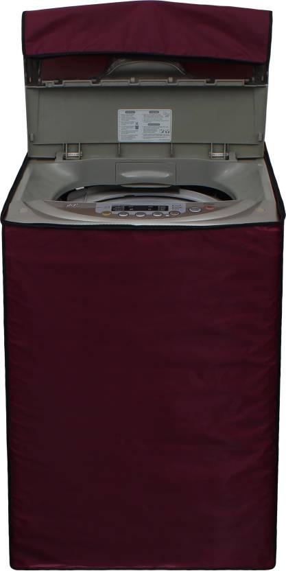 Glassiano Top Loading Washing Machine  Cover Maroon