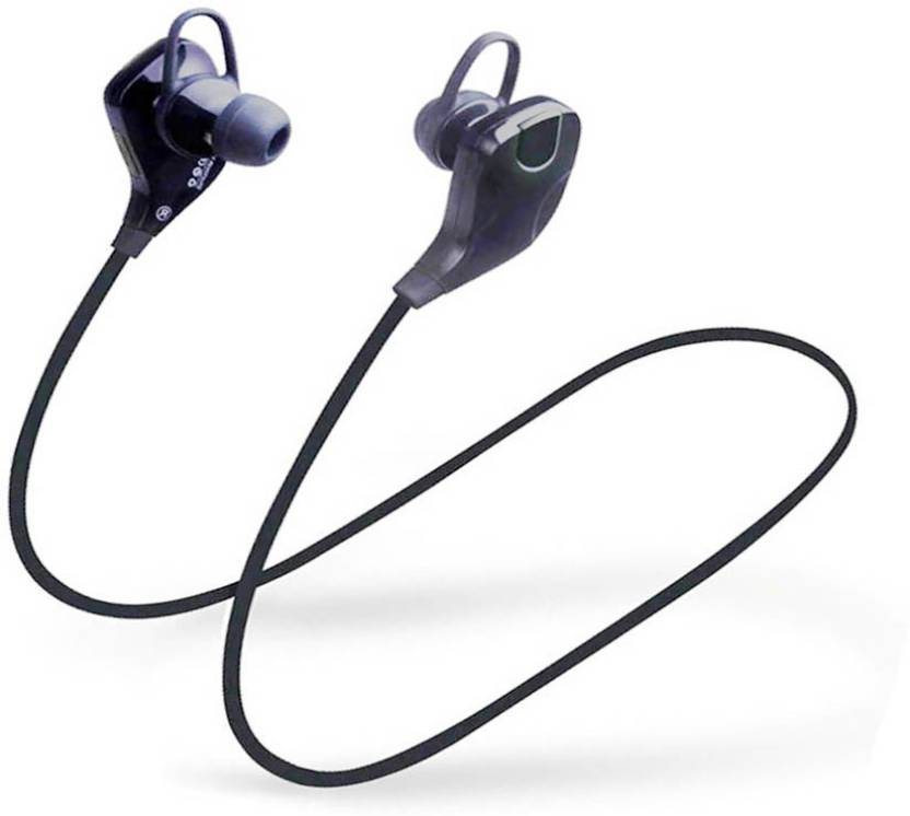 LIFEMUSIC High Quality QY7 Wireless Earbuds Earphones Headphones Bluetooth Headset with Mic Black, In the Ear