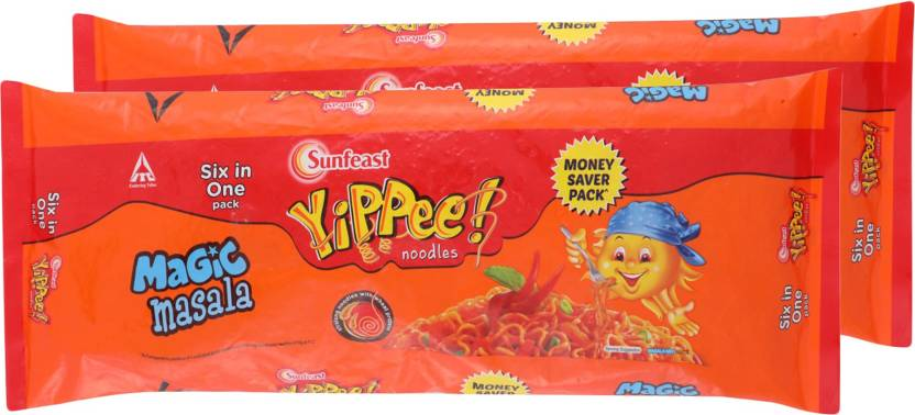 Yippee Magic Masala Instant Noodles 720 G  (Vegetarian, Pack Of 2)