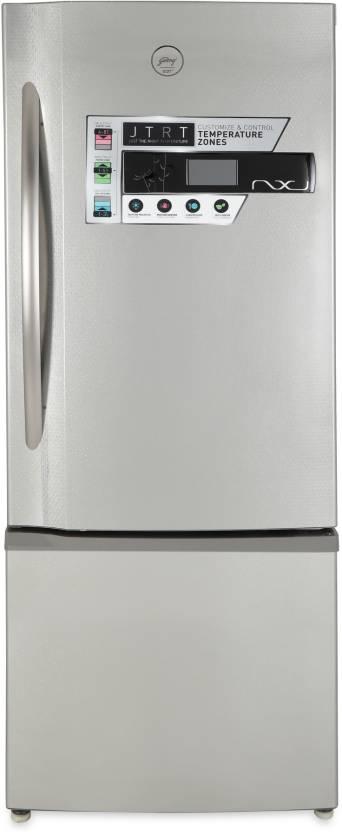 Godrej 405 L Frost Free Double Door Refrigerator Platina, R BEON NXW 405ZD Platina