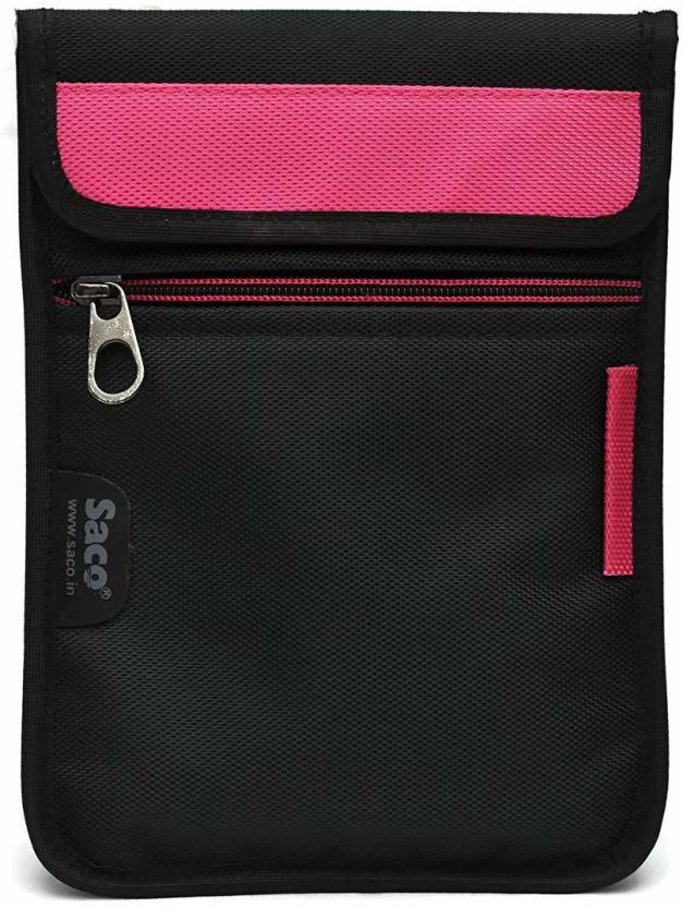 Saco Pouch for iBall Slide Enzo V8 16  GB 7 inch Tablet Black