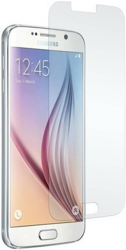 MudShi Tempered Glass Guard for Samsung S6 Pack of 1