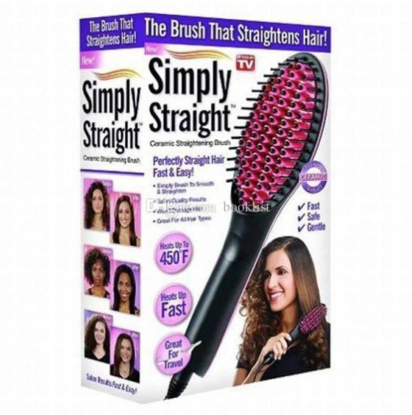 GORICH Automatic Electric Fast Hair Straightener Comb Irons Brush With LCD Digital Display GR HS_51 Hair Straightener Multicolor