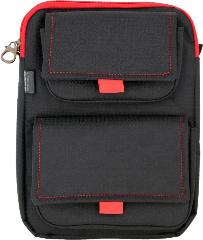 Saco Pouch for Tablet Samsung Galaxy Tab 4 T231 Bag Sleeve Sleeve Cover  Black  Black
