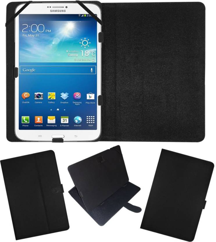 Fastway Flip Cover for Samsung Galaxy Tab 3 T311 Tablet  8inch  Black, Cases with Holder