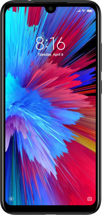 Redmi Note 7 (Onyx Black, 32 GB)  (3 GB RAM)