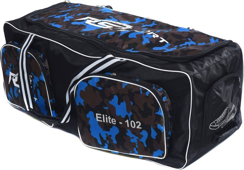 RS SPORT Elite 102 Wheeler Cricket Kit Bag Blue, Kit Bag