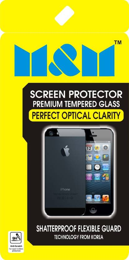 M M Tempered Glass Guard for PANASONIC P66 Mega