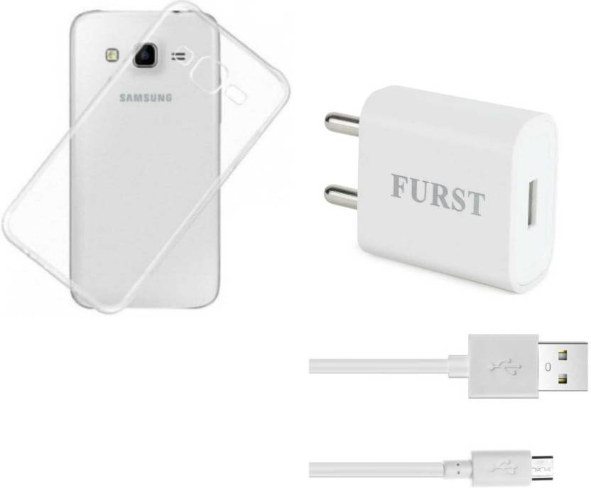 Furst Wall Charger Accessory Combo for Samsung Galaxy J7 White
